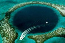 Tim Ekspedisi Temukan Lorong Misterius dan Plastik di Great Blue Hole