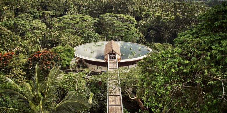 Four Season Resort at Sayan, Ubud, Bali.