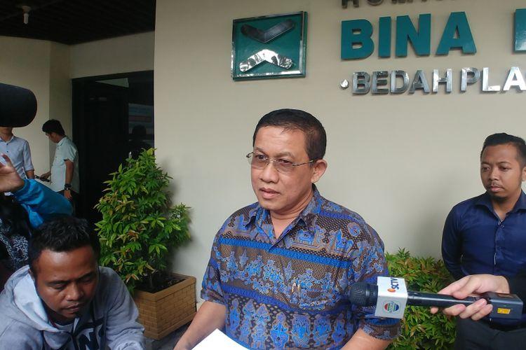 dr. Hariesman, juru bicara rumah sakit Bina Estetika, Rabu (3/10/2018).
