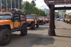 Peserta Offroad Peduli Harimau Sumatra Sudah Tiba di Medan