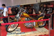 Motor Chopper Jokowi Dipajang di Mal