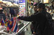 Jelang Asian Games, Omzet Pedagang Bendera di Pasar Senen Naik 50 Persen