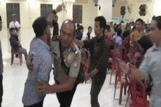 Pelantikan Pengurus HMI di Majene Ricuh, Kader Lempar Kursi di Depan Kapolres