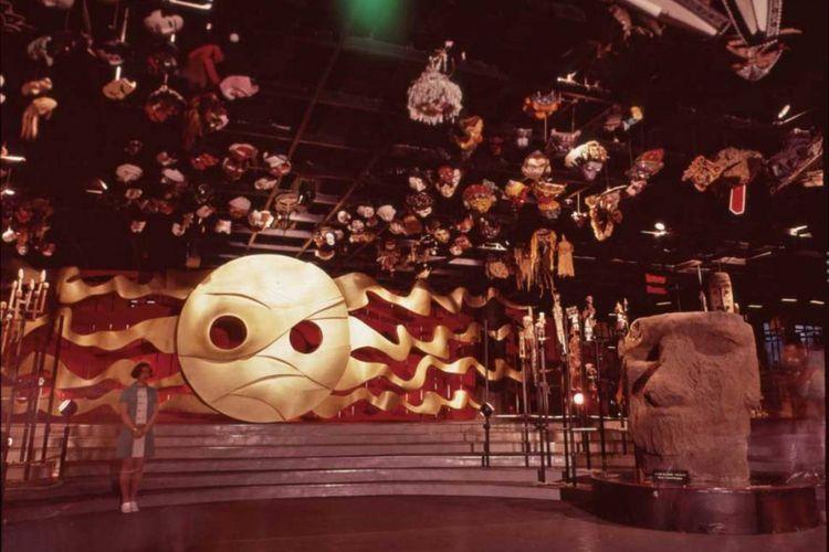Menara Dunia Bawah Tanah pada Expo 1970
