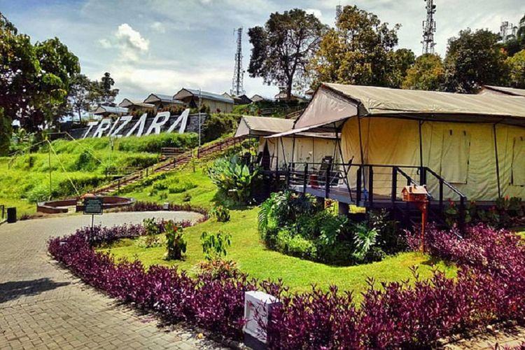 Glamping Trizara Resort Indonesia di Lembang, Jawa Barat.