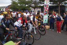 Sepeda Nusantara di Banjar Banjir Peminat