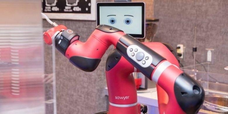 Barista robot di Henna Cafe (KARAKSA MEDIA)