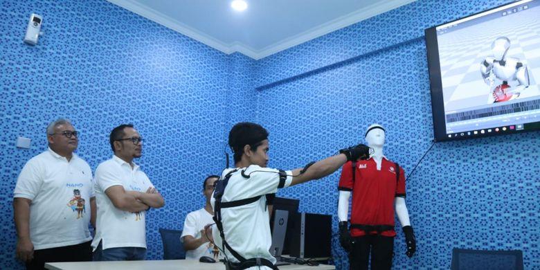 Dukung Industri Animasi, Menaker Resmikan Creative Room di Bekasi