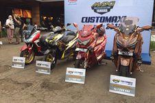 Jawara Kontes Modifikasi Maxi Yamaha di Bekasi