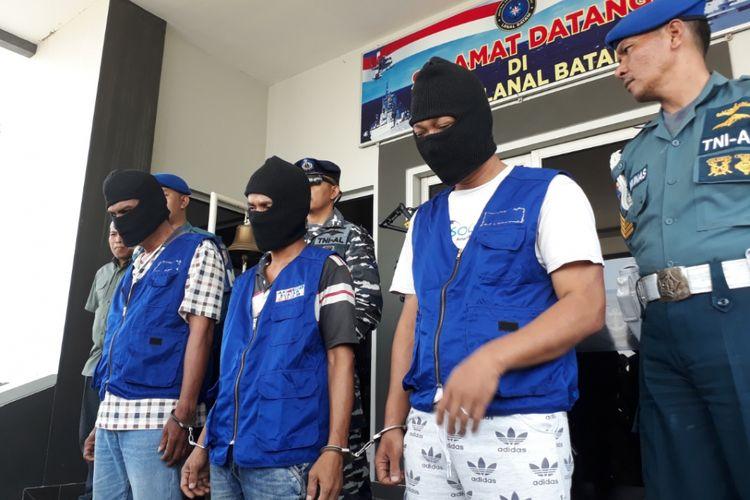 Tiga orang otak pelaku perompakan kapal MT Lee Bo di perairan Malaysia ditangkap di Bat