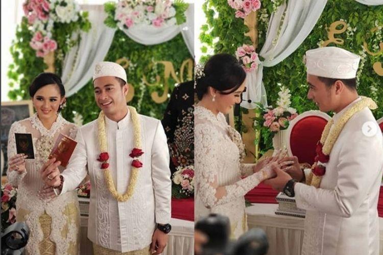 Pernikahan Muhammad Eza Pahlevi atau Eza Gionino dengan Meiza Aulia