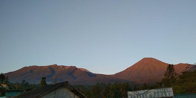 Gunung Pangrango.