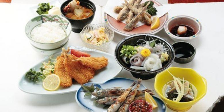 Hidangan di Uojou Honkan