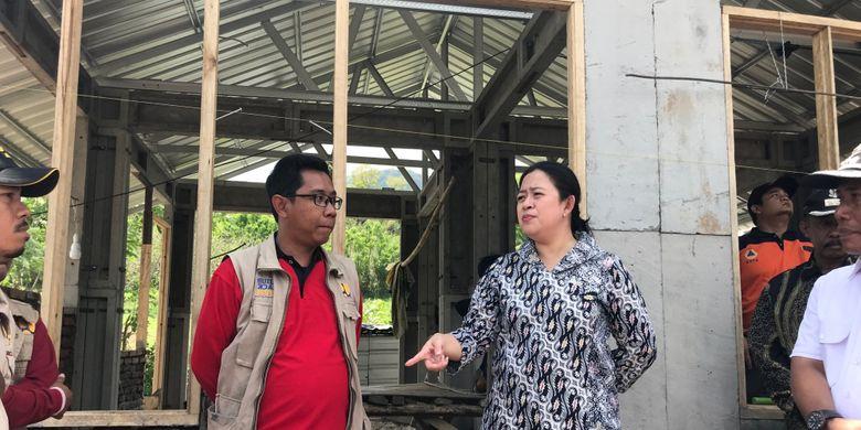 Menko PMK Pastikan Pembangunan Rumah Korban Gempa Berjalan Lancar