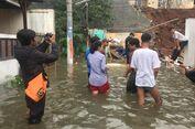 Turap Kali Jantung Ambrol, Perumahan Tirta Mandala Terendam Banjir