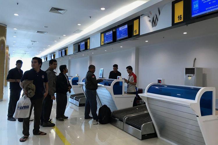 Bandara Aji Pangeran Tumenggung Pranoto di Samarinda, Kalimantan Timur resmi beroperasi Kamis (24/5/2018)
