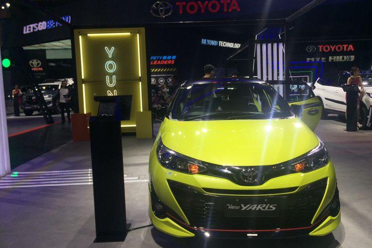 Toyota Yaris di GIIAS 2018