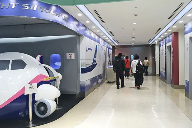 Tips Menghabiskan Waktu di Terminal Internasional Bandara Haneda (versi Keikyu)