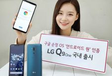 LG Q9 One, Ponsel Android One Hasil 'Rebrand'