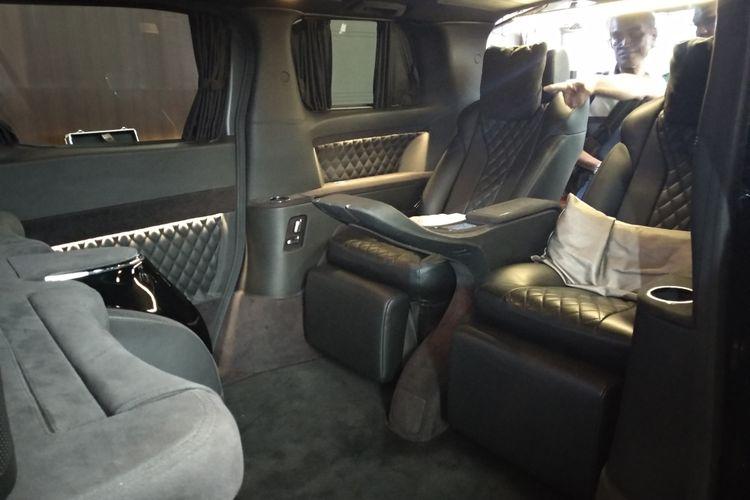 Lombardi menyediakan personalisasi kendaraan MPV Premium sesuai keinginan