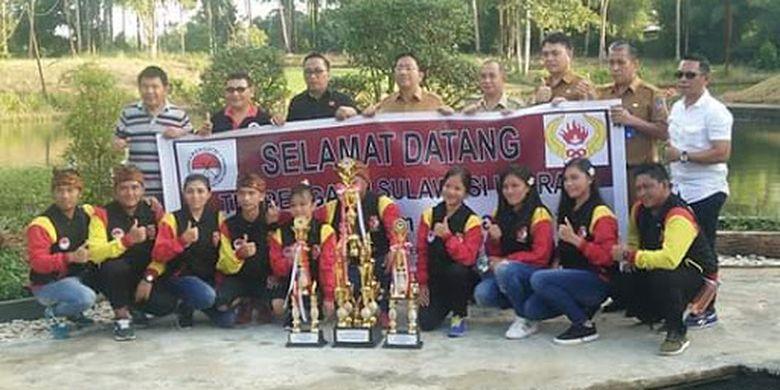 Tim Gateball Sulawesi Utara (Sulut) berhasil menjadi juara umum dalam Kejuaraan Gateball Piala BBPJN VIII, di Denpasar Bali, 23-24 Maret 2019.