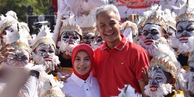 Di Pesta Rakyat Jateng 2019, Mahasiswa Asing Terhibur