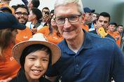 Programer Bocah Asal Indonesia Pamer Foto Bersama CEO Apple