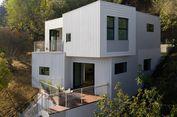 'Stack House', Rumah Kotak di Lereng Bukit Los Angeles