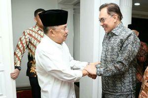 Terima Anwar Ibrahim, Kalla Bahas Suasana Terkini di Malaysia