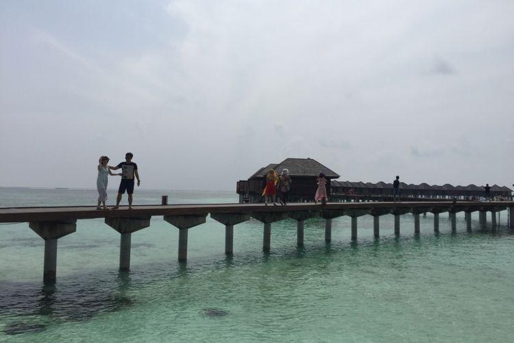 Resor Olhuveli, Maldives.