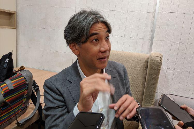 Presiden Direktur Sony Indonesia, Kazuteru Makiyama.