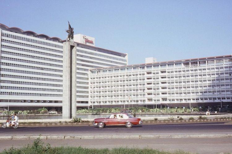 Hotel Indonesia tahun 1960an.