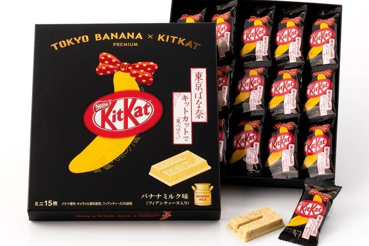 Tokyo Banana x Kitkat Premium