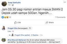 PPDB 2019 SMA Depok Diwarnai