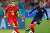 Susunan Pemain Perancis Vs Belgia, Duel Rekan Klub