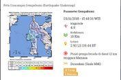 Gempa Hari Ini: 4 Lindu Berpusat di Mamasa, Sulawesi Barat