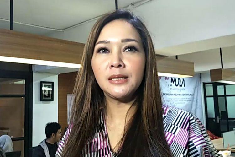 Maia Estianty dalam wawancara di Cilandak Townsquare, Jakarta Selatan, Minggu (20/5/2018) malam.