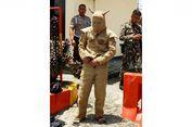 Pria Berpakaian Aneh Terobos Markas Brimob Polda Sulteng