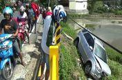 Sopir Sibuk Pasang 'Safety Belt', Toyota Rush Terjun ke Sungai