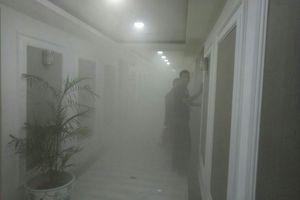 Gedung DPR Terbakar