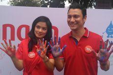 Titi Kamal dan Christian Sugiono Ikut Kampanye Hari Cuci Tangan Sedunia