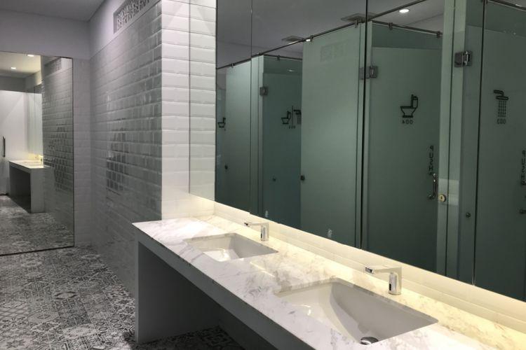 Fasilitas kamar mandi KINI Capsule.