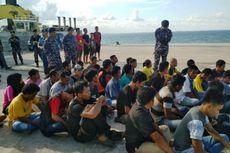 TNI AL Gagalkan Penyelundupan 40 TKI Ilegal ke Malaysia