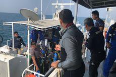 Penyelaman Tunggu Komando Basarnas untuk Pastikan Benda Diduga Badan Pesawat Lion Air
