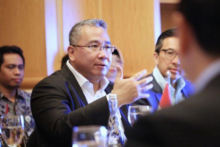 Menteri Desa PDTT Eko Putro Sandjojo bersepakat dengan Minister of International Trade and Industry (MITI) H.E. Darell Leiking dari Kedutaan Besar Malaysia Bahagian Perdagangan untuk membuat satu desk Malaysian Invesment Indonesia, Sabtu (11/8/2018)