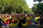 Aksi 5.035 Penari Gambyong di Solo Pecahkan Rekor Muri dan Dunia
