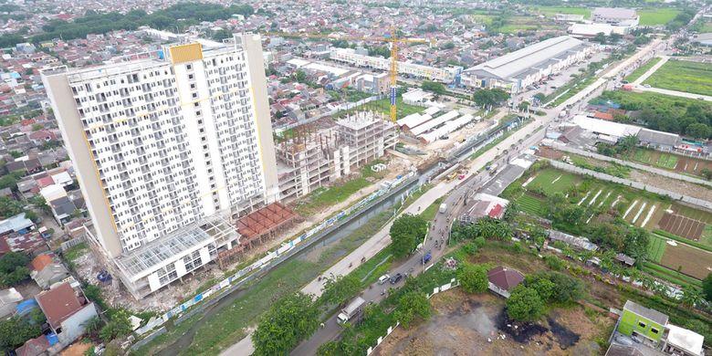 Pertumbuhan properti Bekasi saat ini tidak hanya terpusat di jalan Ahmad Yani, tapi sudah merambah ke berbagai penjuru. Salah satunya adalah di Jalur Lingkar Utara.