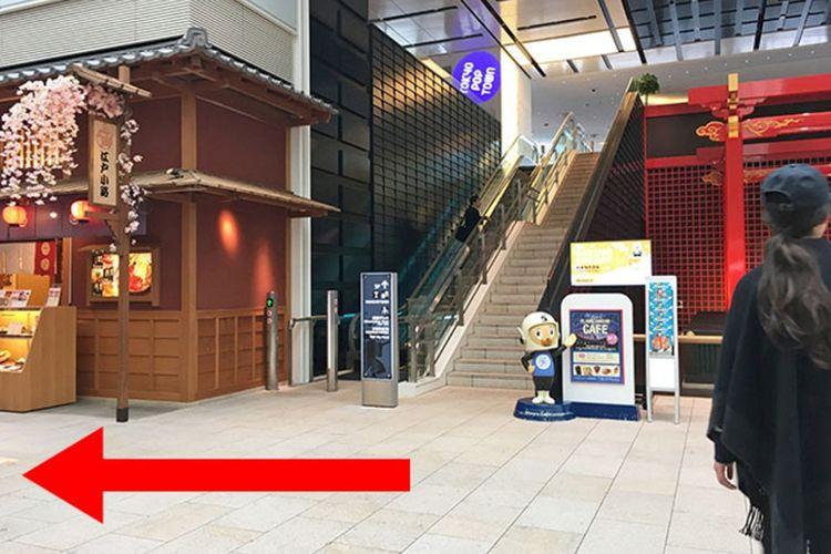 Tips Habiskan Waktu di Terminal Internasional Bandara Haneda (versi Monorail)