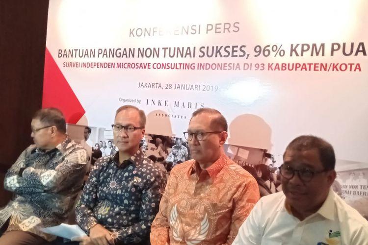 Menteri Sosial Agus Gumiwang Kartasasmita menyebutkan bahwa akan ada peningkatan jumlah KPM pada 2019 sejumlah 15,6 juta keluarga.