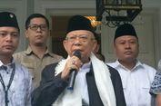 Jelang Debat Perdana, Ma'ruf Amin Bilang 'Sudah Mantaplah'
